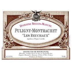 """PULIGNY-MONTRACHET """" LES REUCHAUX """" SEGUIN-MANUEL"""